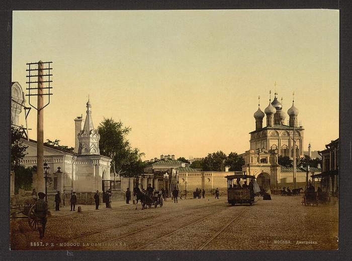 Улица Большая Дмитровка, Москва.