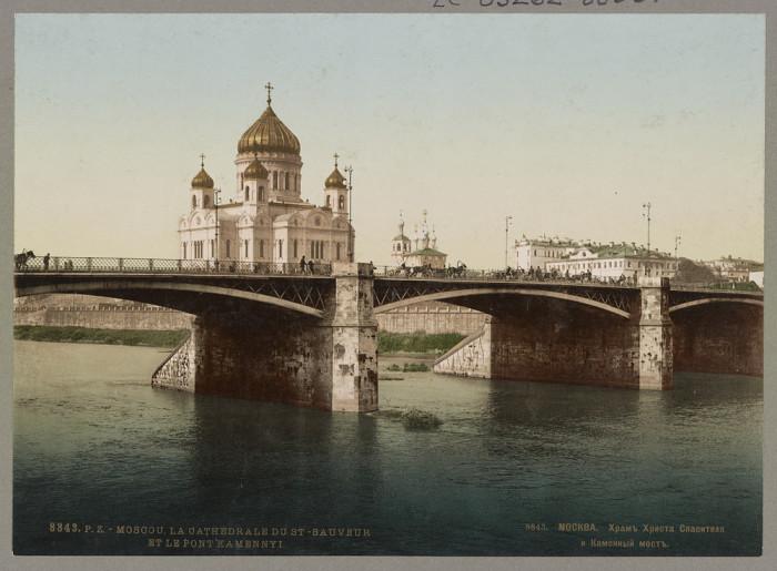 Храм Христа Спасителя, Москва.