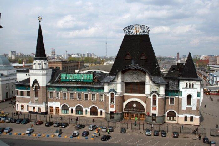 Ярославский вокзал,  Москва, Россия. \ Фото: inyourpocket.com.