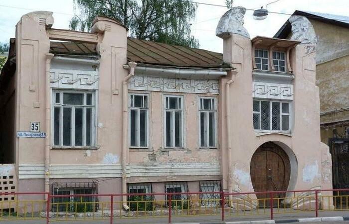 Игорный дом Александра Троицкого, 1907 год, Нижний Новогрод, Россия. \ Фото: google.com.