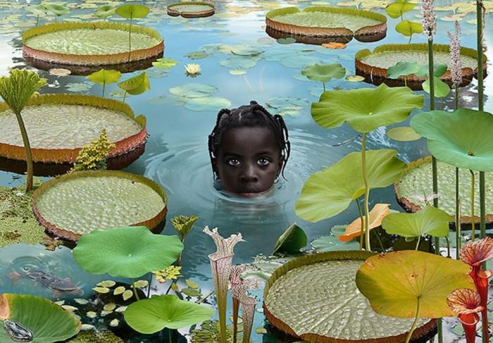 Мир. Автор: Ruud van Empel.