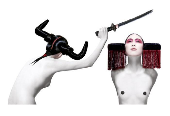 Своеобразные образы в работах Сабины Пигаль (Sabine Pigalle).