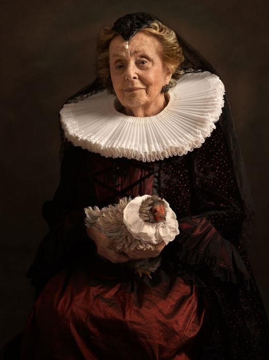 Благородная дама. Автор фото: Sacha Goldberger.