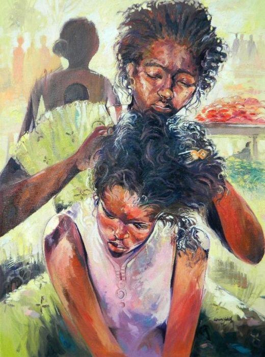 Мама. Автор: Said Oladejo-Lawal.