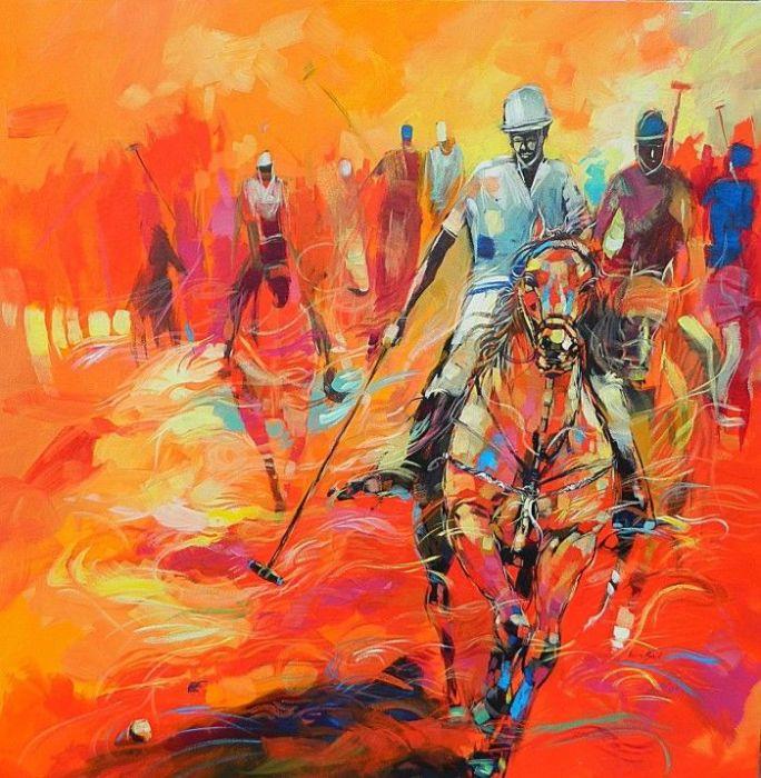 Игра в поло. Автор: Said Oladejo-Lawal.