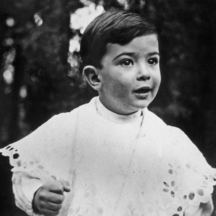Сальвадор Дали в детстве.