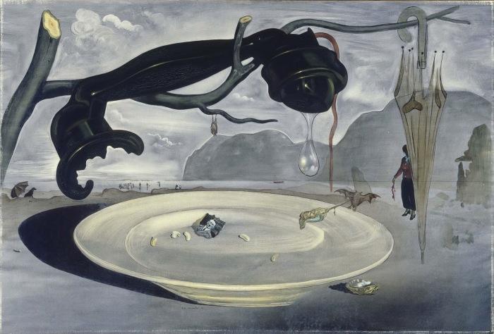 Загадка Гитлера (1939) - Сальвадор Дали.