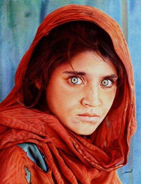 Фотореалистичный рисунок. Автор: Samuel Silva.