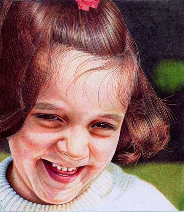 Девочка. Автор: Samuel Silva.