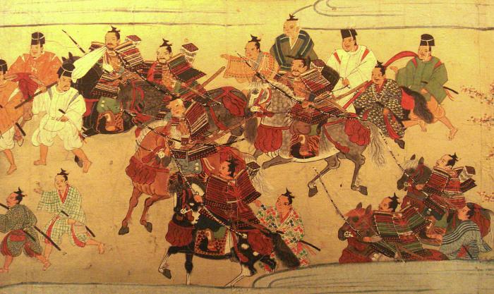 Представления самураев в период Муромати. \ Фото: journaldujapon.com.