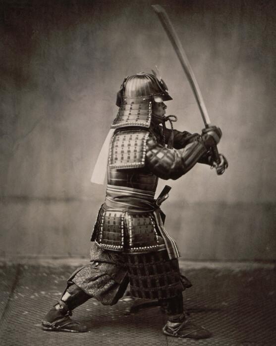 Самурай с мечом. \ Фото: blendspace.com.