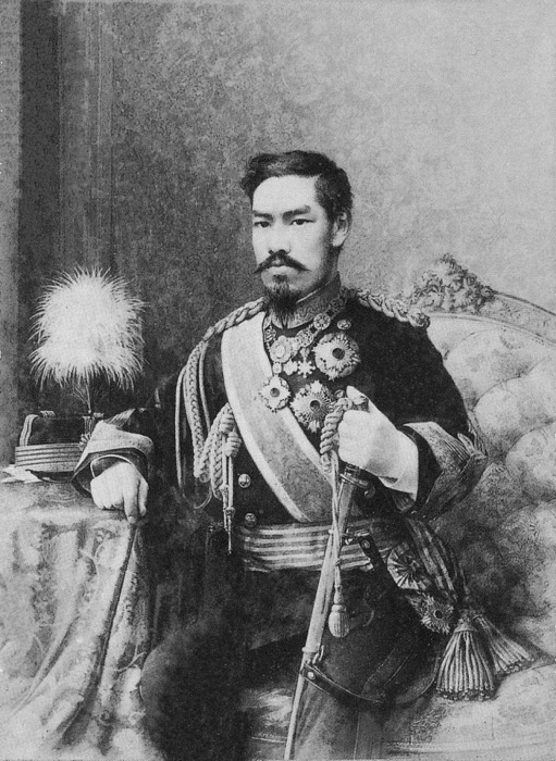 Император Мэйдзи. \ Фото: zhuanlan.zhihu.com.