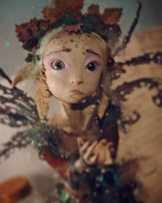 Очень старая кукла. Автор: Sandra Arteaga.