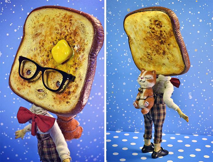 Butter Keaton. Автор: Sandra Arteaga.