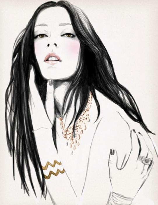 Очаровательная красотка. Автор: Sandra Suy.