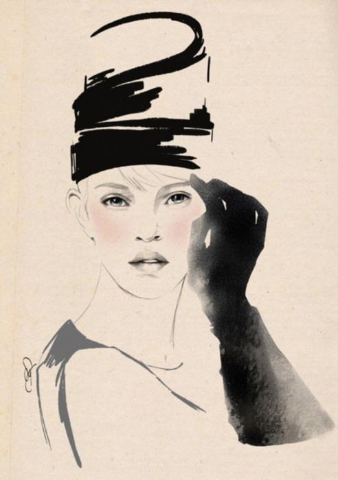 Стильные иллюстрации от Sandra Suy.