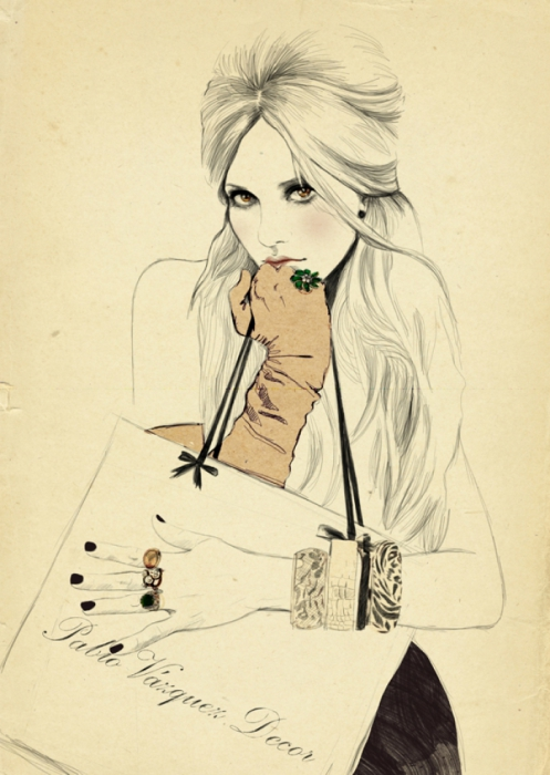Роковая женщина. Автор: Sandra Suy.