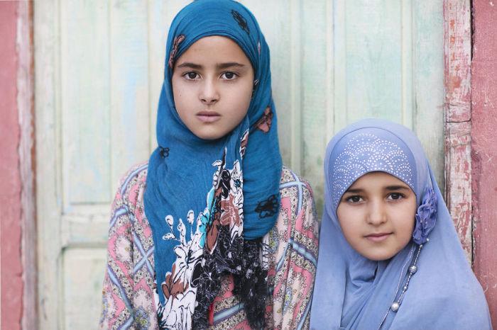 Чаима и Хадиджа. Марокко. Фото-проект: «В поисках красоты». Автор: Сара Мелотти (Sara Melotti).