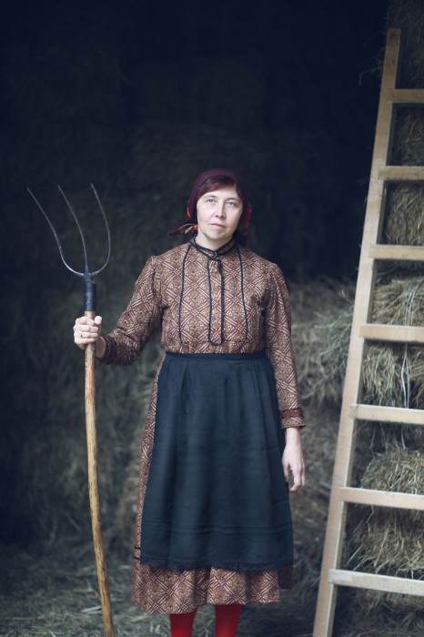 Женщина по имени Лаура. Италия. Фото-проект: «В поисках красоты». Автор: Сара Мелотти (Sara Melotti).
