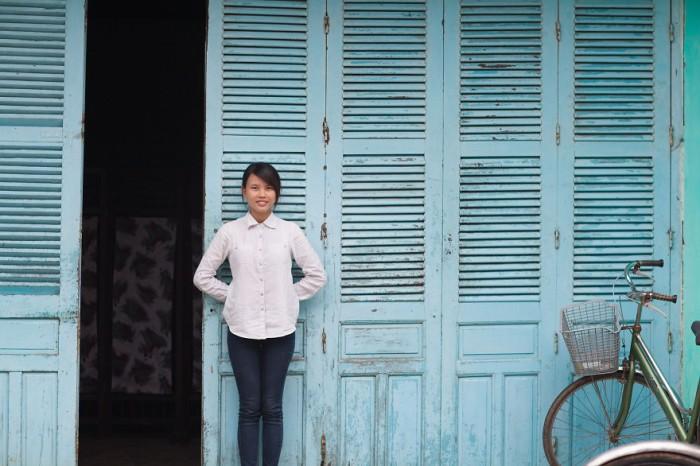 Девушка по имени Туи. Вьетнам. Фото-проект: «В поисках красоты». Автор: Сара Мелотти (Sara Melotti).