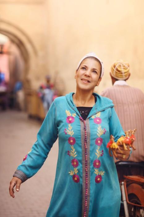 Женщина по имени Джамиля. Марокко. Фото-проект: «В поисках красоты». Автор: Сара Мелотти (Sara Melotti).