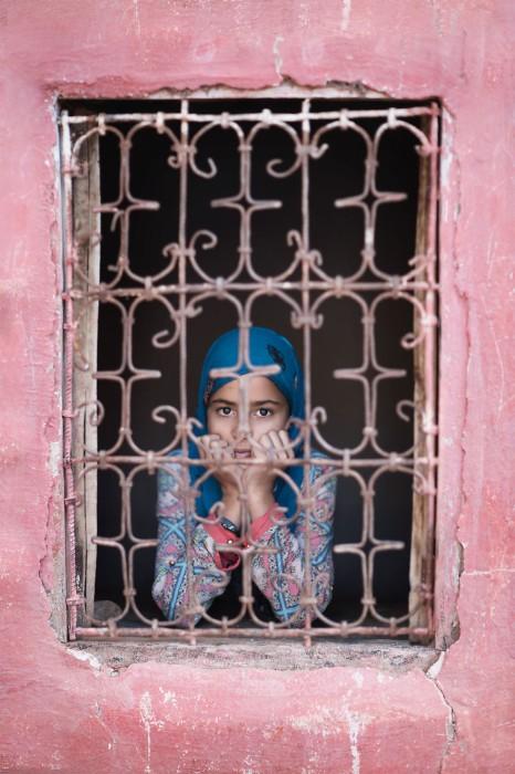 Девушка по имени Чаима. Марокко. Фото-проект: «В поисках красоты». Автор: Сара Мелотти (Sara Melotti).