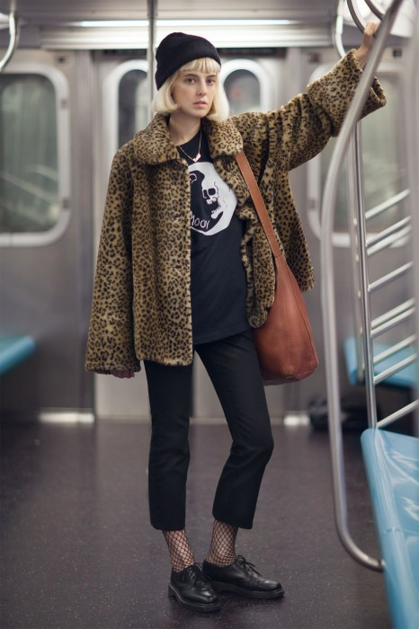 Девушка по имени Эмили. Нью-Йорк. Фото-проект: «В поисках красоты». Автор: Сара Мелотти (Sara Melotti).