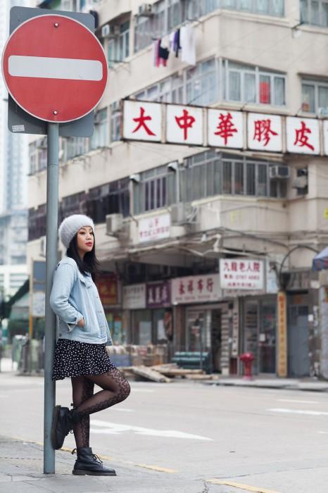 Девушка по имени Мэрилин. Гонконг. Фото-проект: «В поисках красоты». Автор: Сара Мелотти (Sara Melotti).