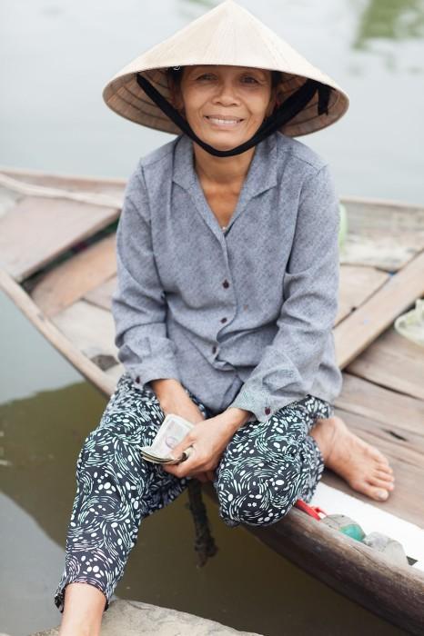 Женщина по имени Лин. Вьетнам. Фото-проект: «В поисках красоты». Автор: Сара Мелотти (Sara Melotti).