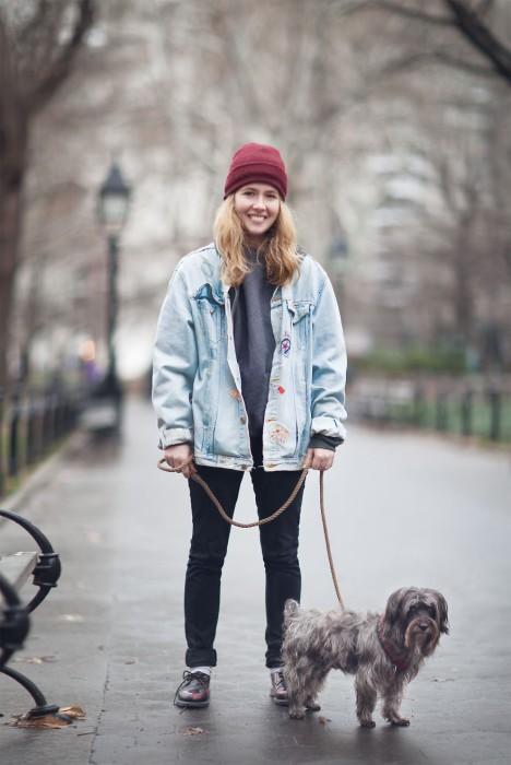 Девушка по имени Бет. Нью-Йорк. Фото-проект: «В поисках красоты». Автор: Сара Мелотти (Sara Melotti).