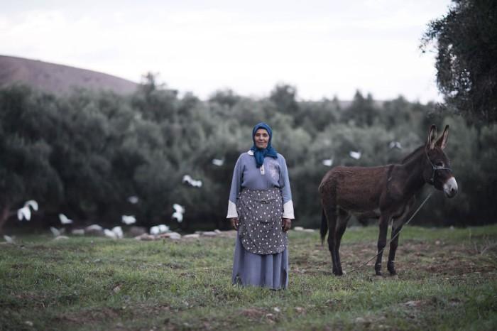 Женщина по имени Кхадиж. Марокко. Фото-проект: «В поисках красоты». Автор: Сара Мелотти (Sara Melotti).