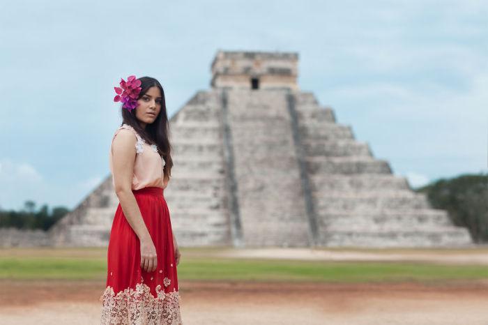 Девушка по имени Даа. Мексика. Фото-проект: «В поисках красоты». Автор: Сара Мелотти (Sara Melotti).