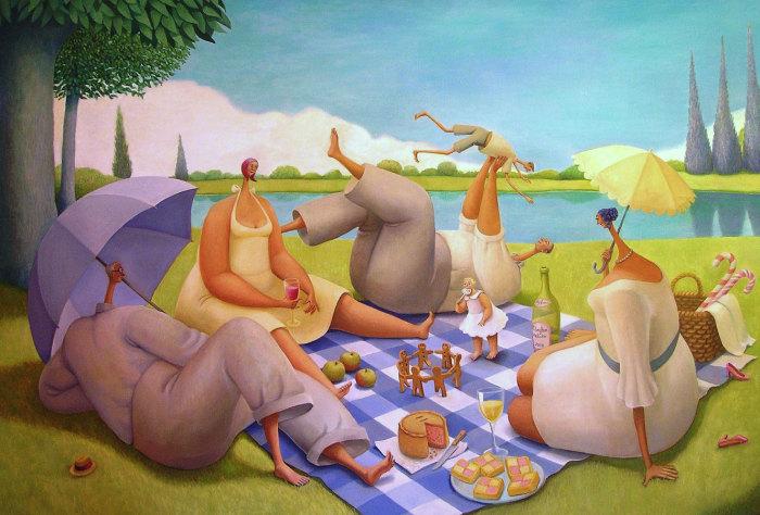 Семейный пикник. Автор: Sarah-Jane Szikora.