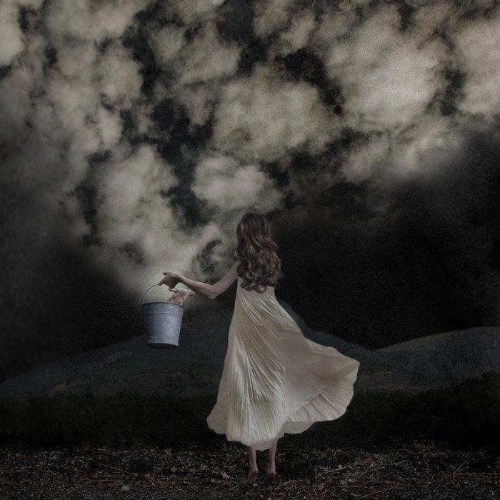 Облачный творец. Автор: Sarah Vermeersch.