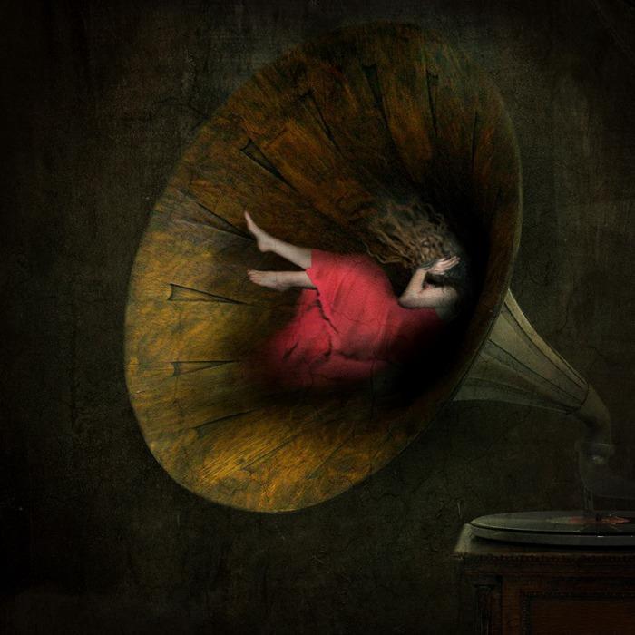 Пять чувств: звук. Автор: Sarah Vermeersch.
