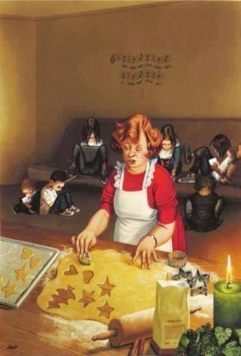 Современные дети. Серия «Сатирических иллюстраций».