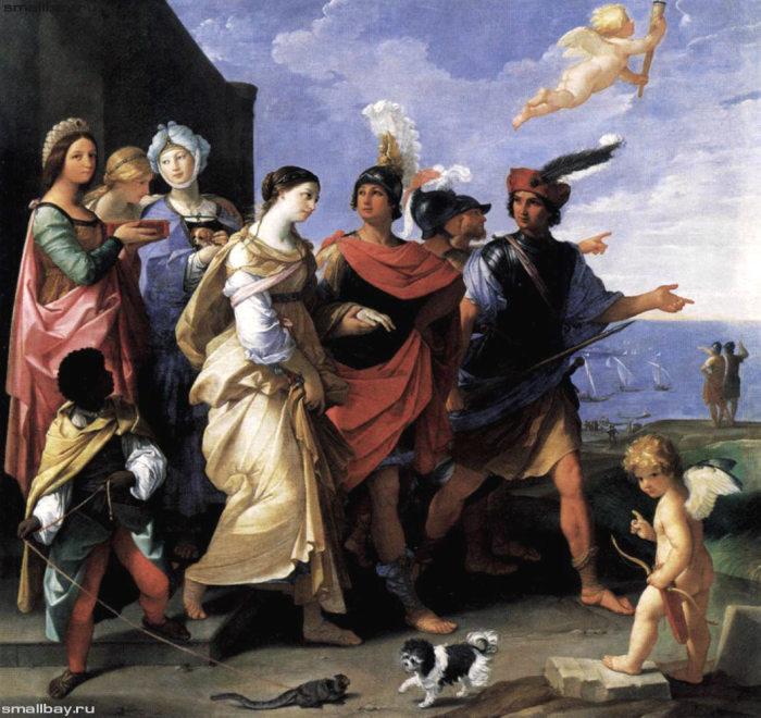 Похищение Елены, картина итальянского художника Гвидо Рени. \ Фото: