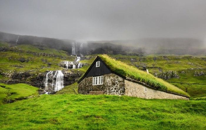 Скандинавия. завораживающая своей природной красотой и волшебными домиками.