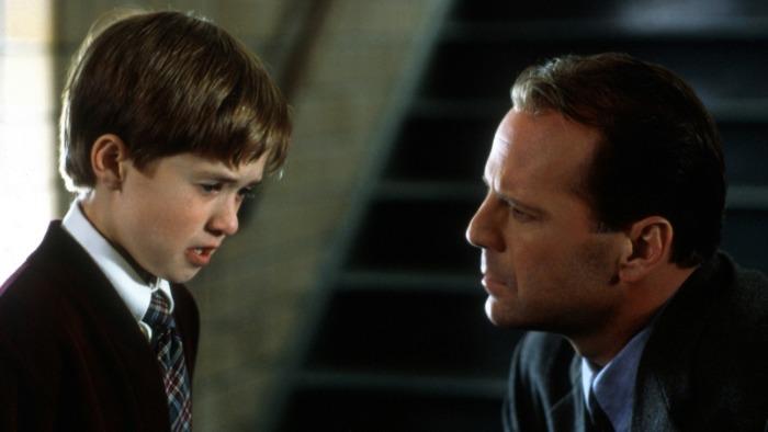 Кадр из фильма Шестое чувство.