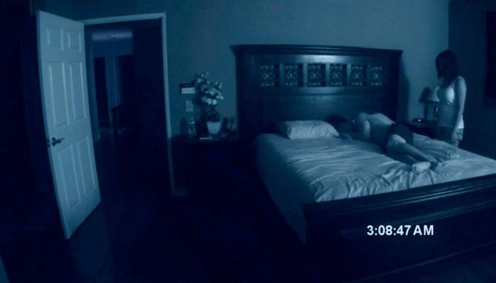 Кадр из фильма Паранормальное явление.