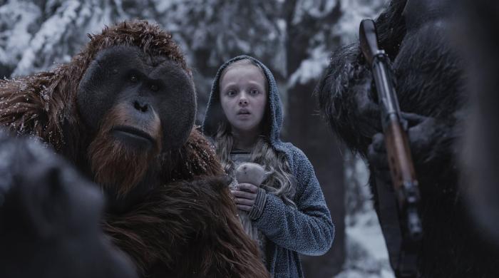 Кадр из фильма: Планета обезьян: Война. \ Фото: gazeta.ru.