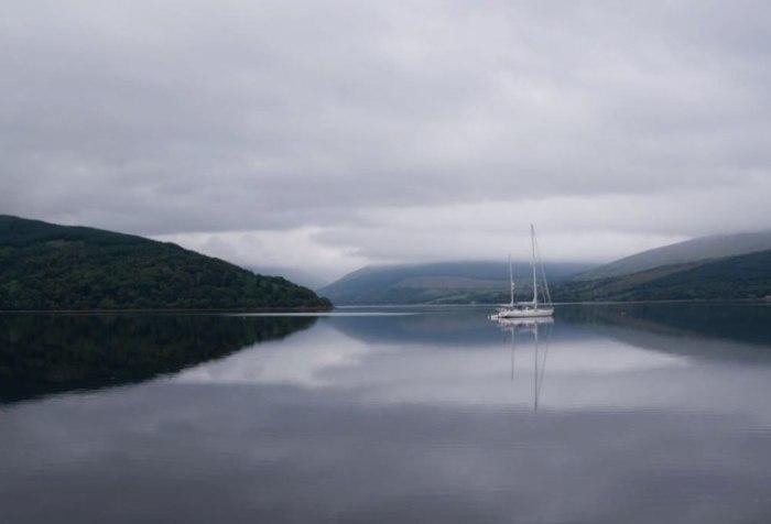 Озеро Лох Файн.
