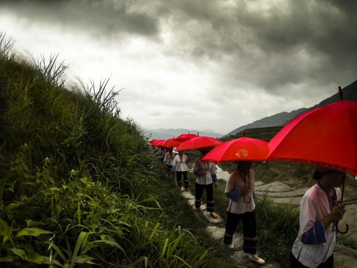 Фестиваль-парад в провинции Гуанси, Китай.