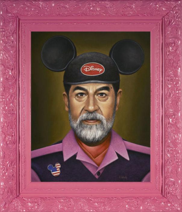 Саддам отправляется в Дисней. Автор: Scott Scheidly.