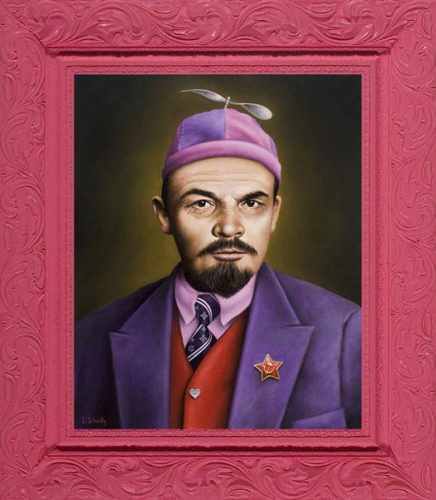 Владимир Ленин. Автор: Scott Scheidly.