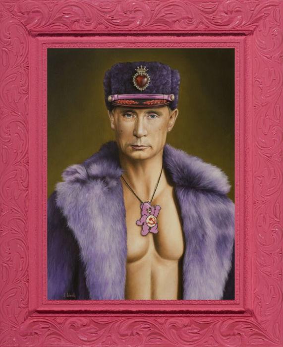 Владимир Путина: Уход Медведева. Автор: Scott Scheidly.