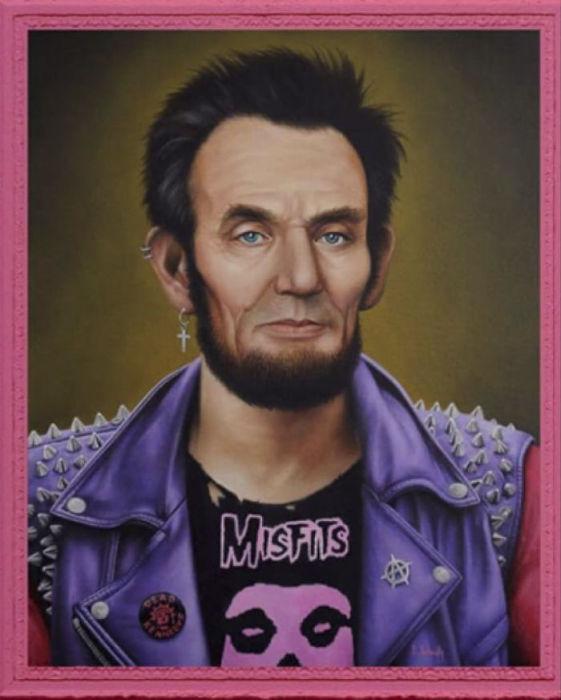 Г-н Линкольн. Автор: Scott Scheidly.