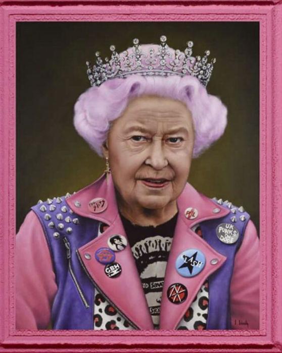 Королева Елизавета. Автор: Scott Scheidly.