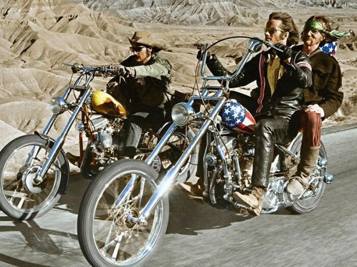 Кадр из фильма: Беспечный ездок. \ Фото: vk.com.