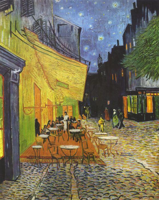 «Ночная терраса кафе» — картина нидерландского живописца Винсента ван Гога. \ Фото: ru.m.wikipedia.org.